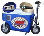 1,000 Watt Motorized Cooler Scooter