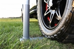 Flag Pole Wheel Stand Only