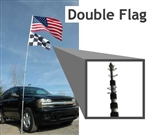 20' Telescoping Flag Pole only
