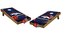 Cornhole Game Set Nfl Amp Ncaa Bean Bag Tailgate Toss