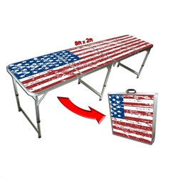 Tailgate Pong America Table - 8 Ft.