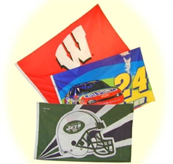 NFL and NCAA Flags