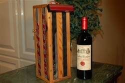 Hockey Stick Wine Tote - Single Bottle