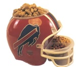 NFL and NCAA Team Logo Football Snack Helmet
