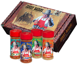 Jerry Baird's World Champion Seasonings - Gift Set