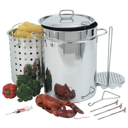 Bayou Classic 32 Qt. Stainless Steel Turkey Fryer