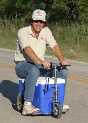 300 Watt Motorized Cooler Scooter