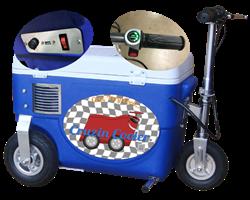 1,000 Watt Motorized Cooler Scooter