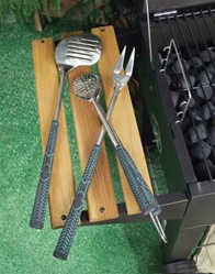 Golf Club Barbecue Tools