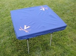 NCAA Logo Card Table Cover