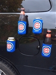 Chicago Cubs, Sox, Brewers MLB Magnetic Coozies - 4 Pack