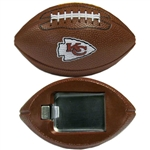 Football Shaped Magnetic Bottle Opener w/ Team Logos