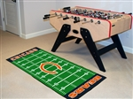 Team Logo Football Field-Shaped Runner