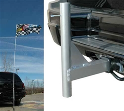 Trailer Hitch Mount for Telescoping Flagpole