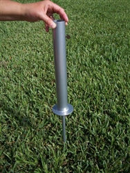 Ground Mount for Telescoping Flagpole