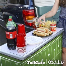 Portable Bar with 3 Skirts