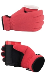 The Ultimate Pair of Drinking Gloves with Stow Away Coozie