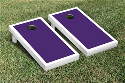 Custom Painted Cornhole Set with Carry Bag