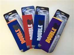 Two Can Folding Coozie - 4 pack!