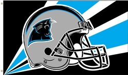 3x5ft CAROLINA PANTHERS HIGH QUALITY EMERSON HELMET BANNER FLAG