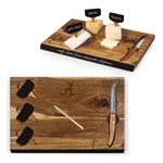 NCAA Cheese Board Set with Knife and Cheese Markers!!